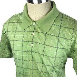 Brooks Brothers mercerized cotton green polo shirt